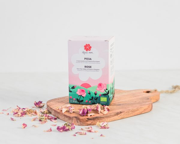 Rose - loose tea, for cooking and food decoration