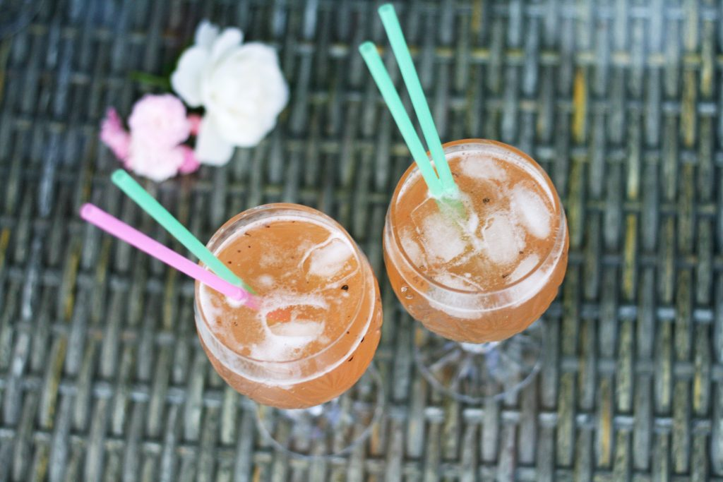 The cocktail: Peppery Rose