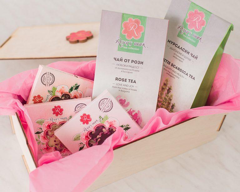 Подаръчен комплект 'Чай и шоколад'
