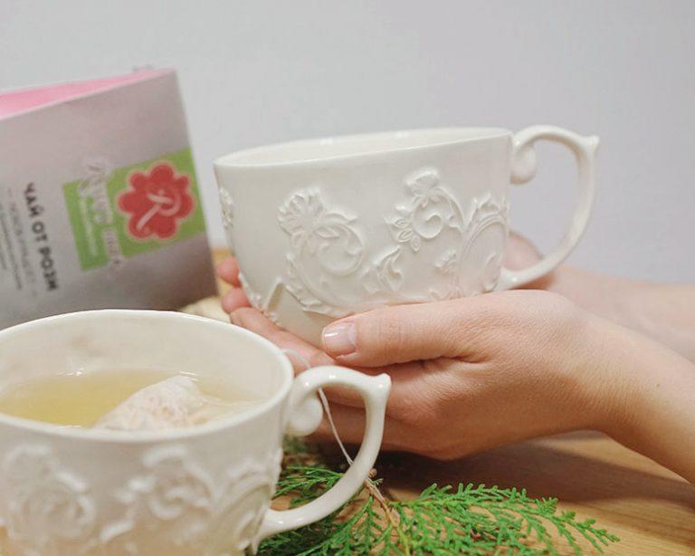 Порцеланова Чаша за Чай Rosey's mark