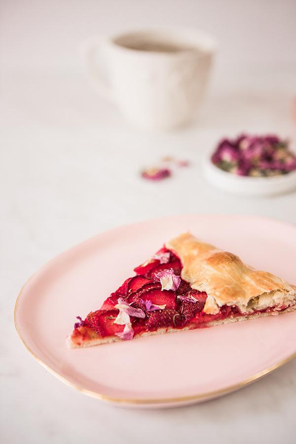 Тарт с рози