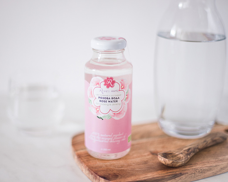 Rose water for cooking