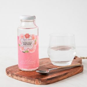 Rose water for cooking and drinks