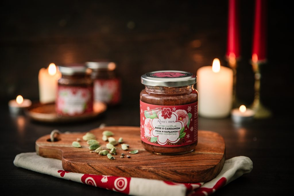 Rose & Cardamom Winter Confiture