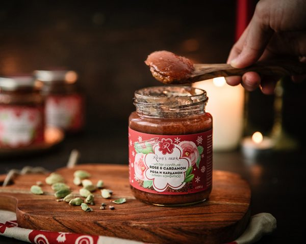 Winter Confiture Rose & Cardamom, limited edition