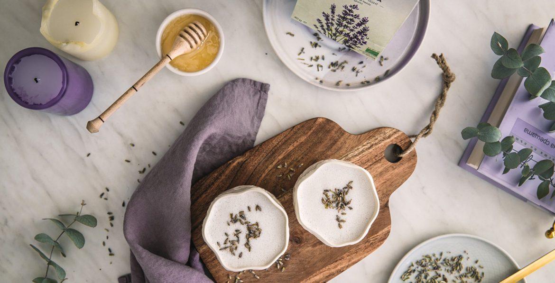 Lavender milk