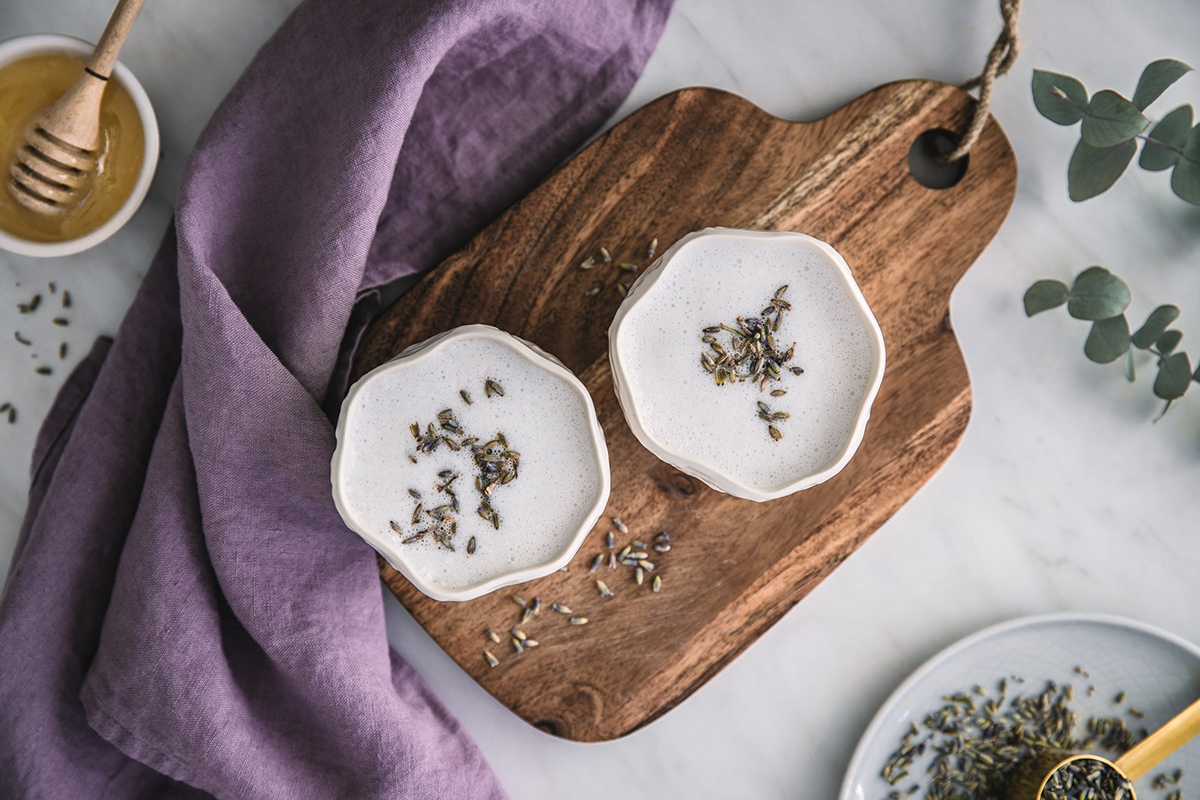 lavender milk recipe