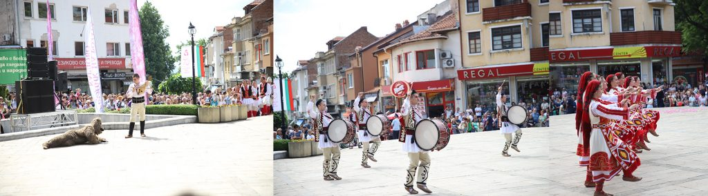 Traditional rose celebrations in Bulgaria