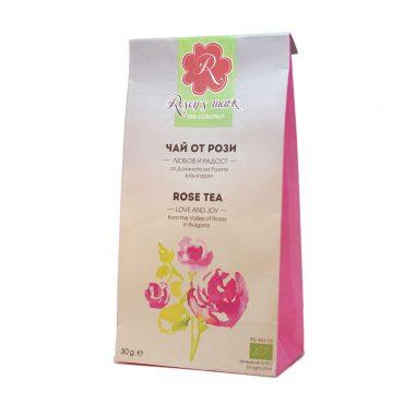 Чай Роза – Любов и Радост