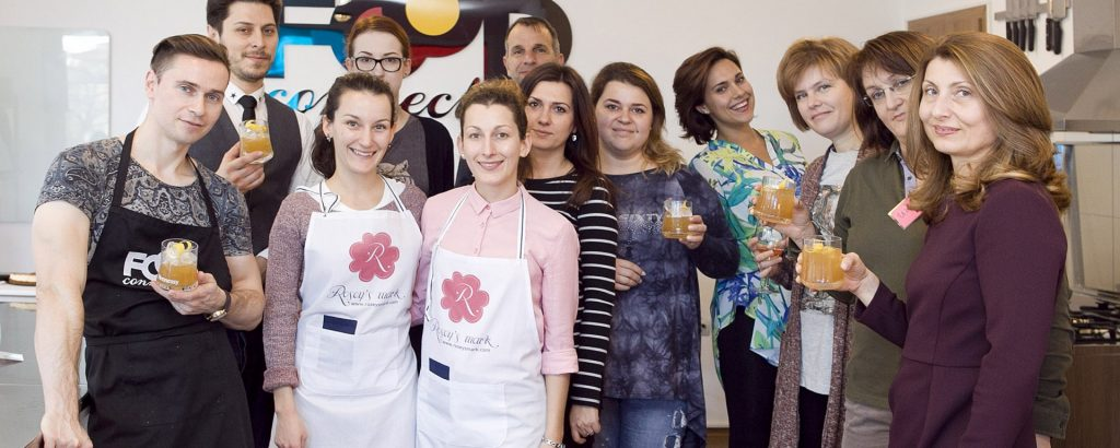 Cooking with Roses workshop