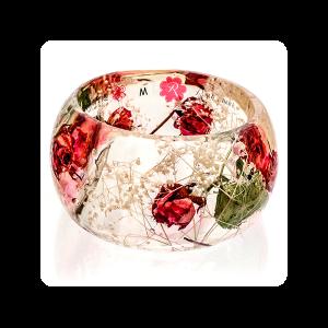 big bracelet roses M