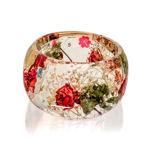 big bracelet with roses