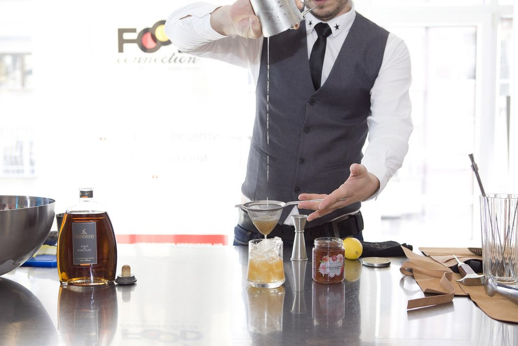 Cocktail recipe - Rose&Strawberry Hennessy Fine de Cognac