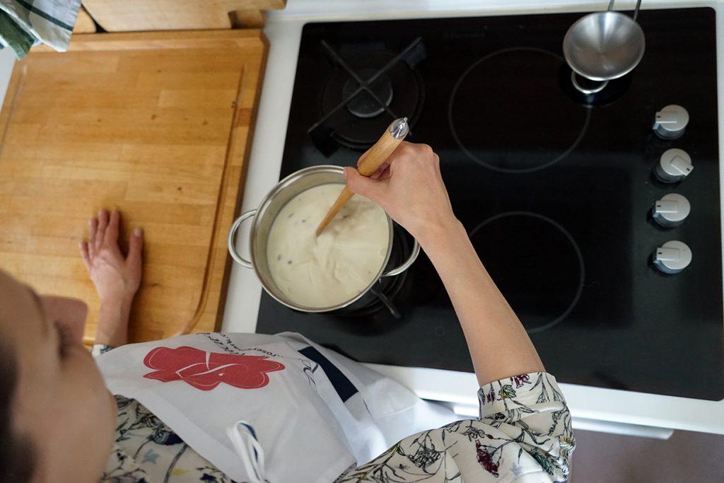pannacotta preparation