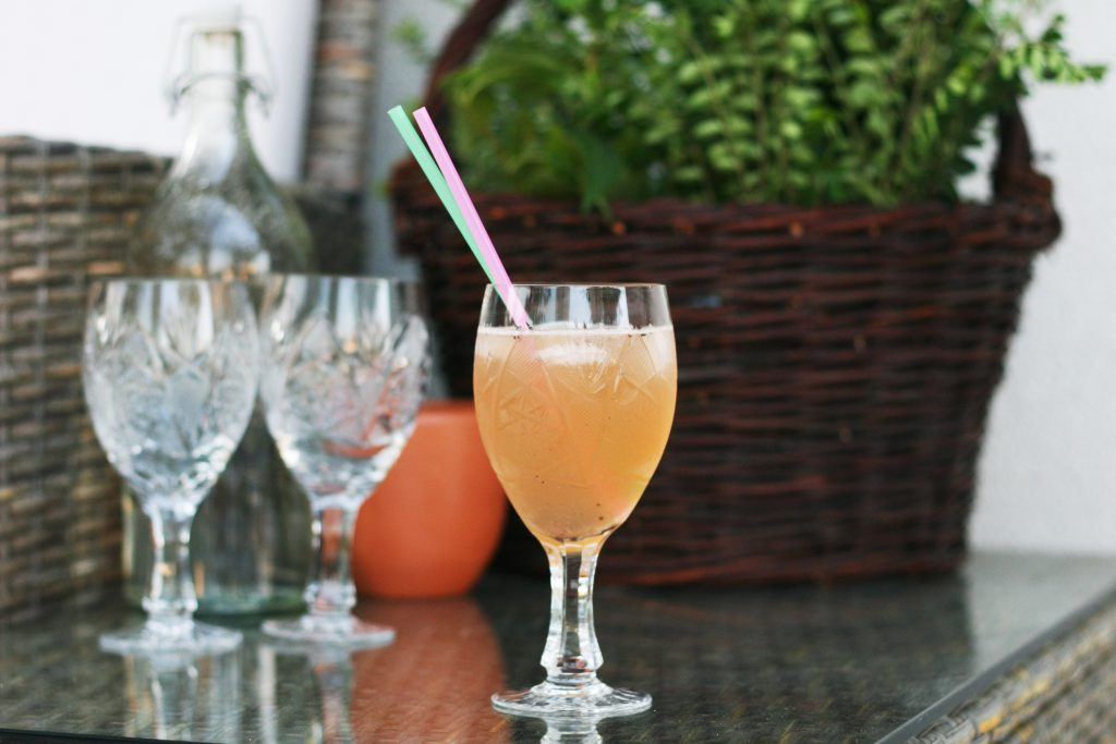 Peppery Rose cocktail recipe