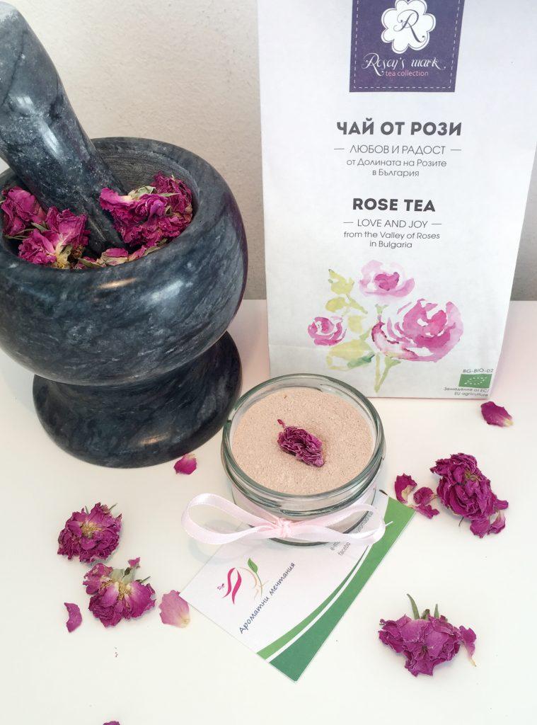 Aromatni mechtania - rose powder