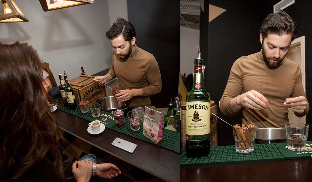RoseysMark-Jameson-Cocktails-workshop-hot-buttered-preparation