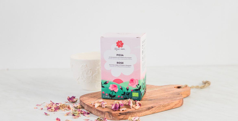 Ново лице за чая от рози